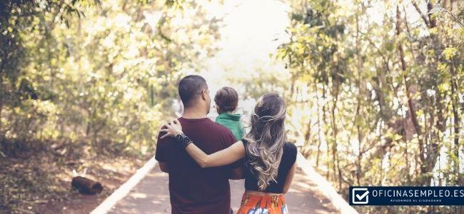 ayuda familiar trabajo media jornada