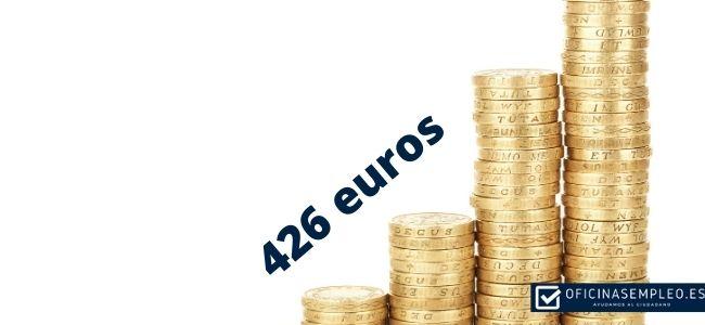 Requisitos para cobrar el subsidio de 426 euros